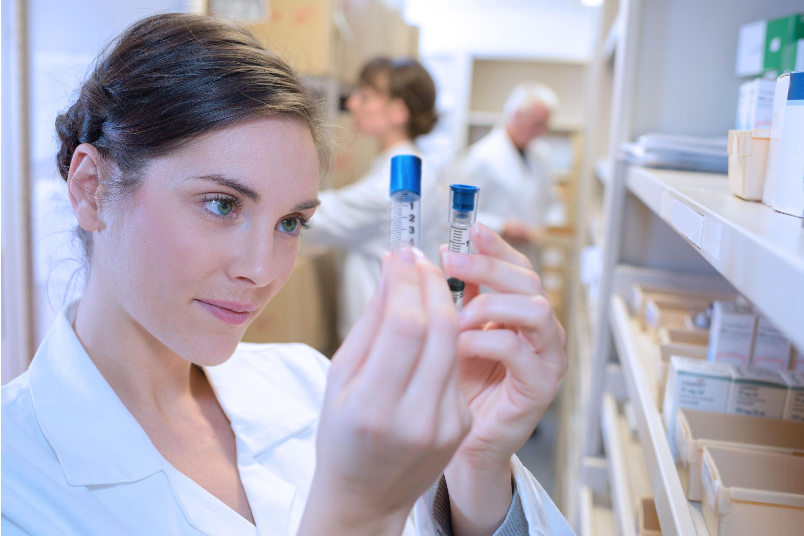 Prep-Lock Tamper Evident Syringe Cap for IV Syringes