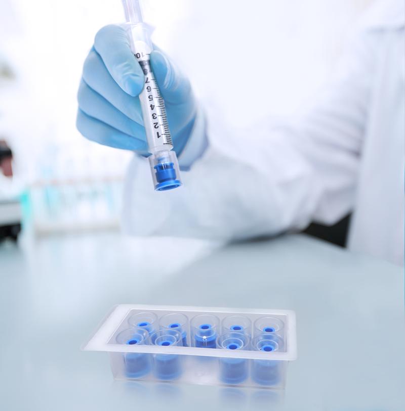 Prep-Lock Tamper Evident Cap for IV Syringes